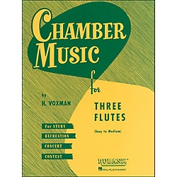 Hal Leonard Chamber Music Series For Three Flutes - Easy To Medium Level In Score Form (4474540)