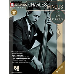 Hal Leonard Charles Mingus - Jazz Play Along Volume 68 Book with CD (843069)