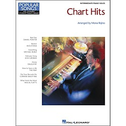 Hal Leonard Chart Hits Intermediate Piano Solos Popular Songs Hal Leonard Student Piano Library by Mona Rejino (296710)