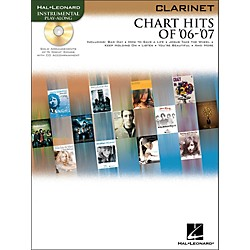 Hal Leonard Chart Hits Of '06-'07 For Clarinet Book/CD (842198)