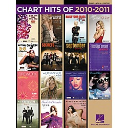 Hal Leonard Chart Hits Of 2010-2011 PVG Songbook (312118)