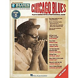 Hal Leonard Chicago Blues - Blues Play-Along Volume 1 (Book/CD) (843106)