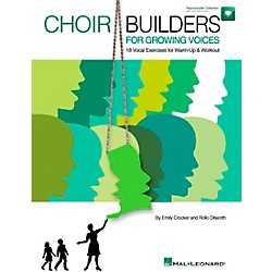 Hal Leonard Choir Builders For Growing Voices - 18 Vocal Exercises for Warm-up & Workout Book/CD (9971400)
