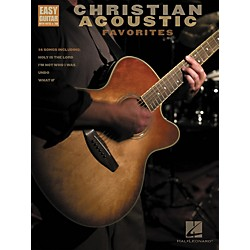 Hal Leonard Christian Acoustic Favorites Songbook w/Tab (702237)