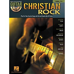 Hal Leonard Christian Rock Guitar Play-Along Volume 71 Book/CD (699824)