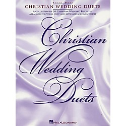 Hal Leonard Christian Wedding Duets (740110)