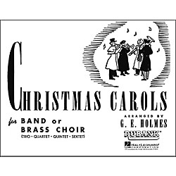 Hal Leonard Christmas Carols For Band Or Brass Choir Fourth Part Trombone Baritone (4475780)