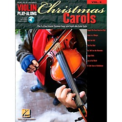 Hal Leonard Christmas Carols Violin Play-Along Volume 5 Book/CD (842156)