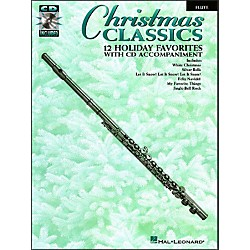 Hal Leonard Christmas Classics - 12 Holiday Favorites For Flute Book/CD Pkg (841219)