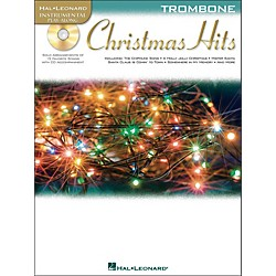 Hal Leonard Christmas Hits For Trombone - Instrumental Play-Along Book/CD Pkg (842422)