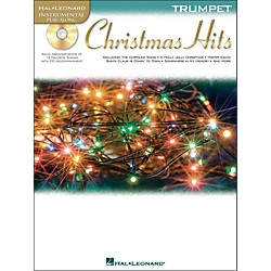 Hal Leonard Christmas Hits For Trumpet - Instrumental Play-Along Book/CD Pkg (842420)