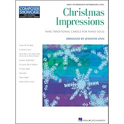 Hal Leonard Christmas Impressions Early Intermediate Level Hal Leonard Student Piano Library by Jennifer Linn (296706)