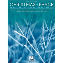 Hal Leonard Christmas Peace - 30 Inspirational Songs Of The Season arranged for piano, vocal, and guitar (P/V/G) (311888)