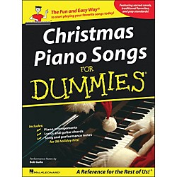 Hal Leonard Christmas Piano Songs For Dummies (311387)