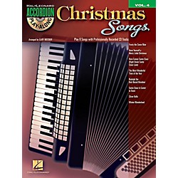 Hal Leonard Christmas Songs - Accordion Play-Along Volume 4 Book/CD (101770)