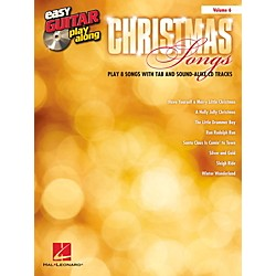 Hal Leonard Christmas Songs - Easy Guitar Play-Along Volume 6 Book/CD (101879)