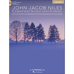 Hal Leonard Christmas Songs And Carols For Low Voice Book/CD (50486740)