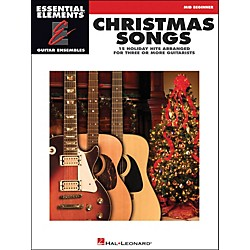 Hal Leonard Christmas Songs Mid Beginner For EE Guitar Ensemble (1136)