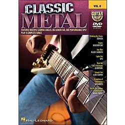 Hal Leonard Classic Metal - Guitar Play-Along DVD Volume 8 (DVD) (320525)