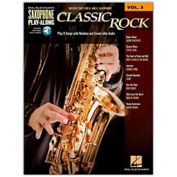 Hal Leonard Classic Rock - Saxophone Play-Along Vol. 3 Book/CD (113429)