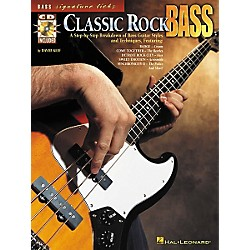 Hal Leonard Classic Rock Bass (Book/CD) (695641)