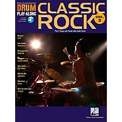 Hal Leonard Classic Rock Drum Play-Along Series Volume 2 Book with CD (699741)