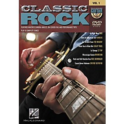 Hal Leonard Classic Rock Guitar Play-Along DVD Series - Volume 1 (320530)