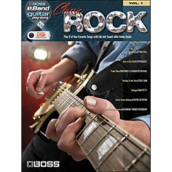 Hal Leonard Classic Rock Guitar Play-Along Volume 1 (Boss eBand Custom Book With USB Stick) (701635)