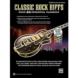 Hal Leonard Classic Rock Riffs Guitar Book & CD (322446)