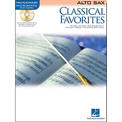Hal Leonard Classical Favorites Alto Sax Book/CD Instrumental Play-Along (841956)