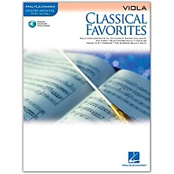 Hal Leonard Classical Favorites Viola Book/CD Instrumental Play-Along (841962)