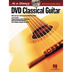 Hal Leonard Classical Guitar - At A Glance (Book/DVD) (696434)