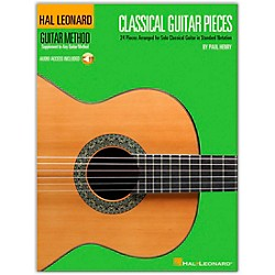 Hal Leonard Classical Guitar Pieces - The Guitar Method Supplement (Book/CD) (697388)