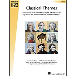Hal Leonard Classical Themes Level 3 Hal Leonard Student Piano Library (296325)