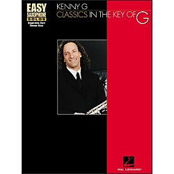 Hal Leonard Classics In The Key Of G - Kenny G Easy Solos For Solo Saxophone (841525)