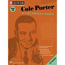 Hal Leonard Cole Porter - Jazz Play Along Volume 16 Book with CD (843009)
