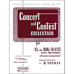 Hal Leonard Concert And Contest Collection For E Flat Or Bb Flat Bass (Tuba) Piano Accompaniment Only (4471820)