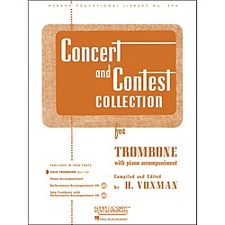 Hal Leonard Concert And Contest Collection For Solo Trombone Solo Part Only (4471790)