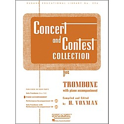 Hal Leonard Concert And Contest Collection For Trombone - Piano Accompaniment Only (4471800)
