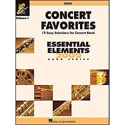 Hal Leonard Concert Favorites Vol1 Oboe (860120)