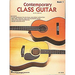 Hal Leonard Contemporary Class Guitar 1 Method Book (699225)
