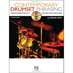 Hal Leonard Contemporary Drumset Phrasing Book/CD Drumset Instruction (6620093)