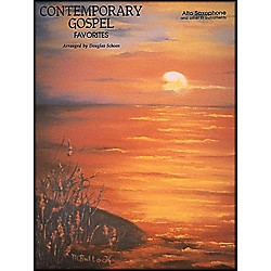 Hal Leonard Contemporary Gospel Favorites For Alto Saxophone And Other E Flat Instruments (850238)