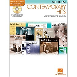 Hal Leonard Contemporary Hits For Violin Book/CD Instrumental Play-Along (841931)