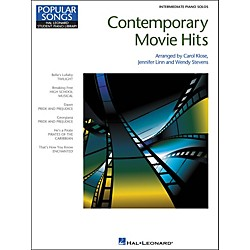 Hal Leonard Contemporary Movie Hits - Hal Leonard Student Piano Library Popular Songs Series - Intermediate Leve (296780)