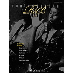 Hal Leonard Contemporary R&B Piano, Vocal, Guitar Songbook (310606)
