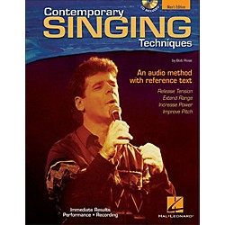 Hal Leonard Contemporary Singing Techniques - Men's Edition Book/CD (740262)