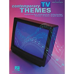 Hal Leonard Contemporary TV Themes Piano, Vocal, Guitar Songbook (311045)