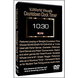 Hal Leonard Countdown Clock Timer VJ World Visuals (320987)