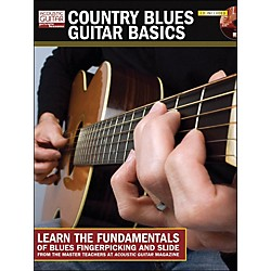 Hal Leonard Country Blues Guitar Basics Book/CD) (696222)
